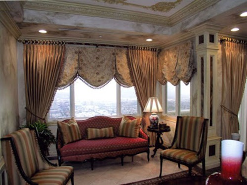Curtain Design Ideas Applicable to your Living Room