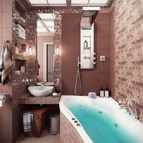 Decorating You Small Bathroom Intelligently