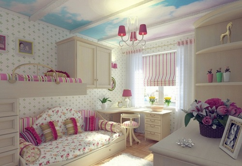 Designing A Bedroom For Your Daughter