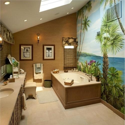 Designing A Tropical Bathroom