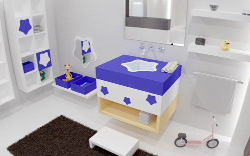 Designing Kids Bathroom - Colors and Themes