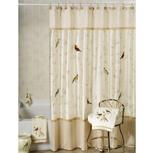 different materials for bathroom shower curtains interior design