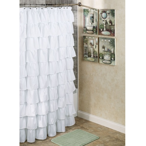 Different Materials For Bathroom Shower Curtains