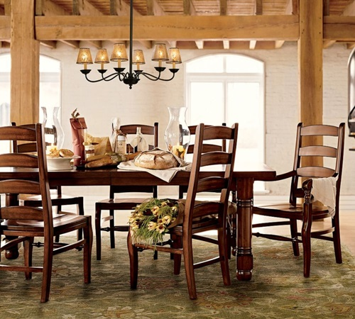 Dining room look affordable tips to change your dining for Dining room looks