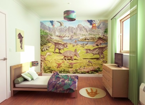 Dinosaur Bedroom Themes For Kids