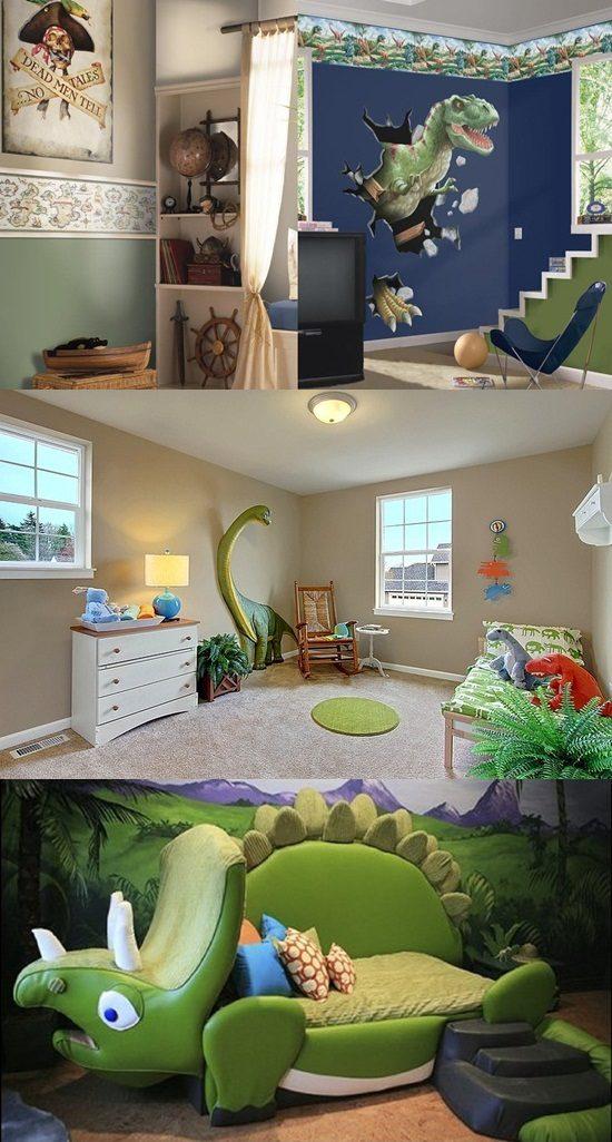 Dinosaur Bedroom Themes For Kids Interior Design