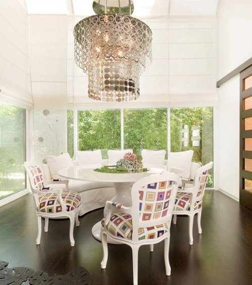 give your dinning room a new look by decor interior design