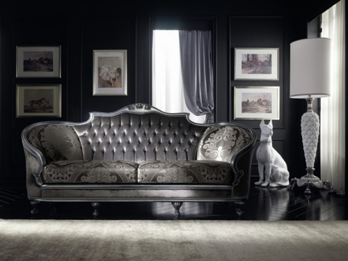 Gothic design for living rooms interior design for Gothic living room furniture