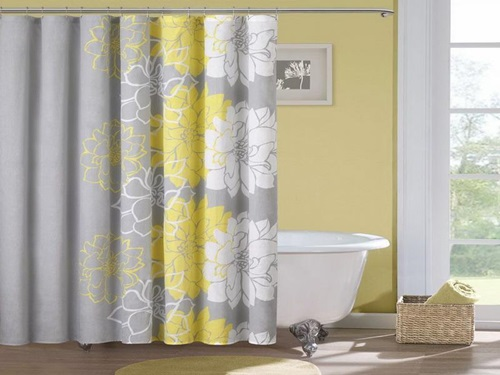 Having Shower Curtains In The Bathroom Is a Mus