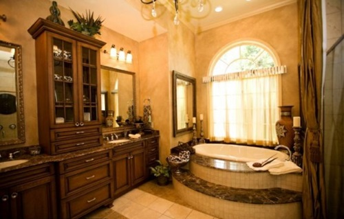 Tuscan Bathroom Colors: How To Choose Tuscan Curtains