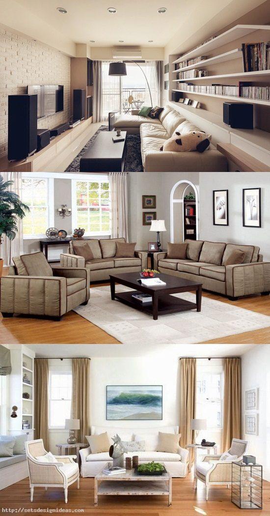 How To Arrange A Modern Living Room Interior Design