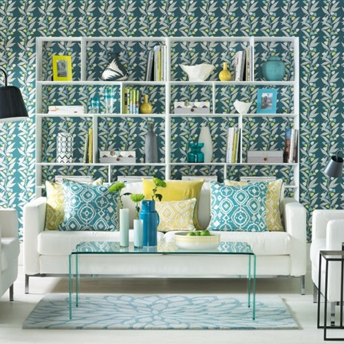 How to Choose the Ideal Wallpaper for your Living-room