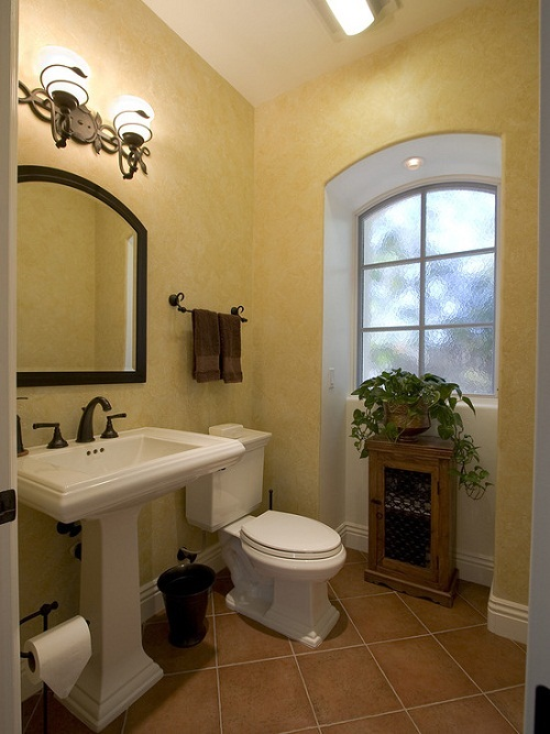 How to decorate your bathroom in mexican style interior - How to layout a bathroom remodel ...