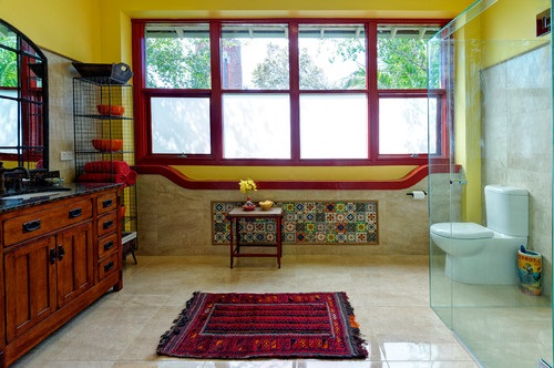 How To Decorate Your Bathroom In Mexican Style Interior