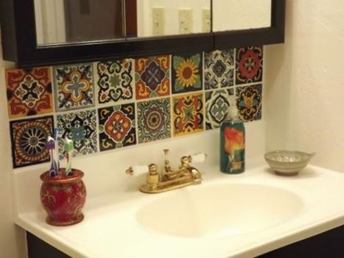 Awesome ... How To Decorate Your Bathroom In Mexican Style