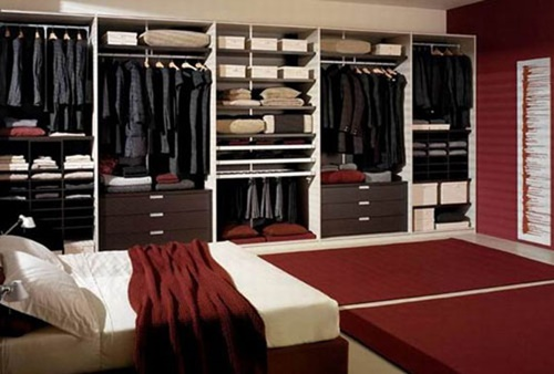How to design a walk in closet in your bedroom interior Bedroom wardrobe interior designs