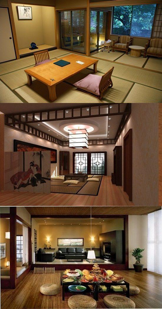 Sticks Stones Furniture Interior Design ~ Japanese interior design stick furniture and