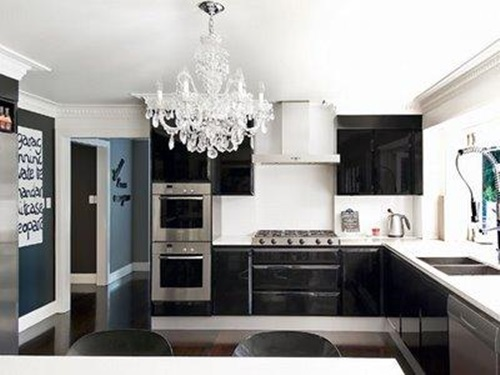 Kitchen cabinet design different colors interior design for Different kitchen colors