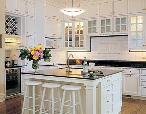 Kitchen cabinet design different colors interior design for Different kitchen designs