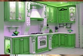 Kitchen Cabinet Design - Different Colors