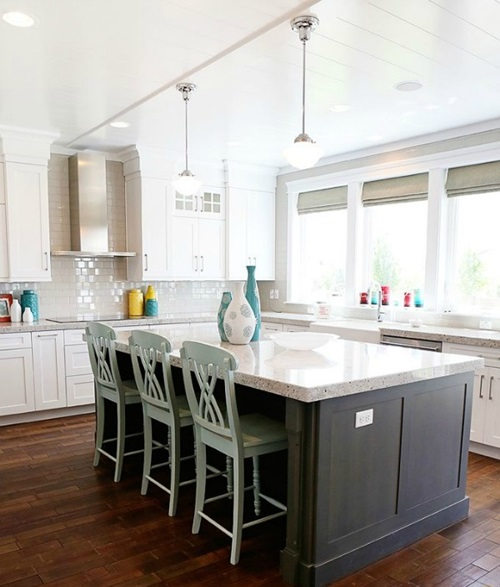 Kitchen Cabinet Color Design: Kitchen Cabinet Design