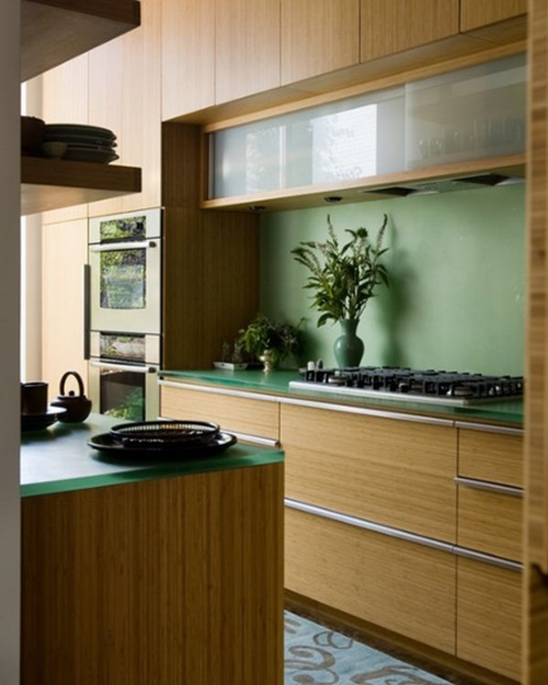 Kitchen cabinet design different colors interior design for Different kitchen designs
