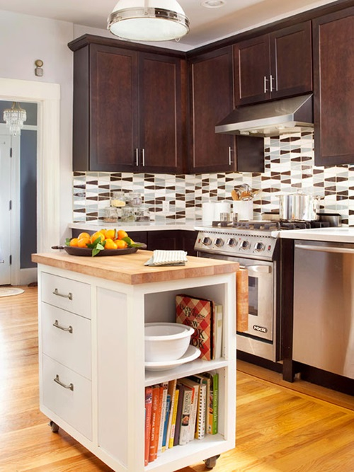 kitchen cabinets design with smart space saving solutions interior