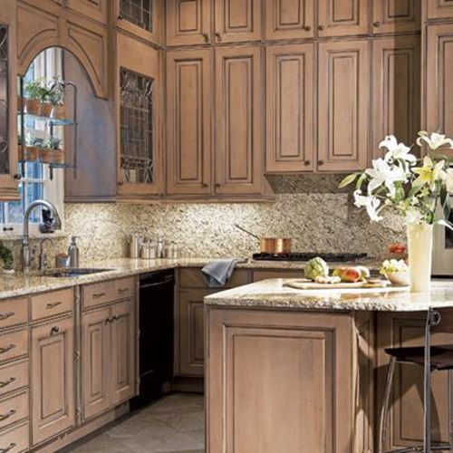 Amazing And Smart Tips For Kitchen Decorating Ideas: Kitchen Cabinets Design With Smart Space-Saving Solutions