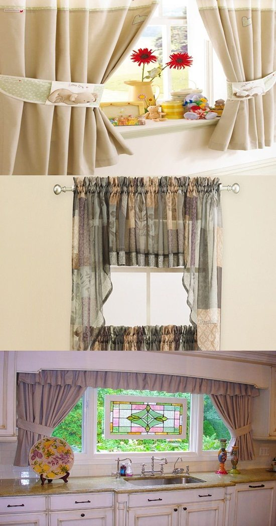 Kitchen Curtains How To Choose Kitchen Curtains Interior Design