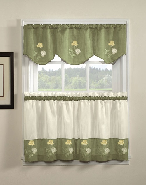 Kitchen Curtains Renewing Your