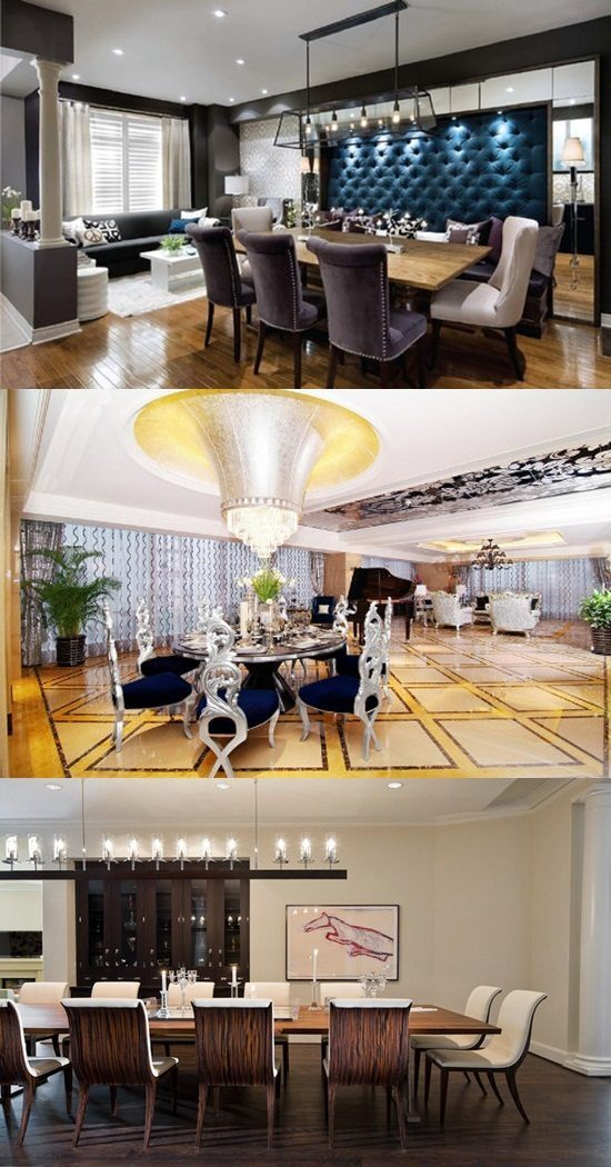 Luxurious Dining Room Designs – Modern Dining Room
