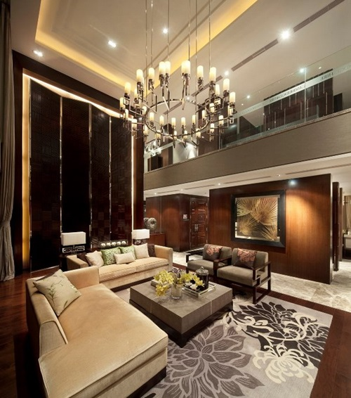 Luxury Living Room Interior Design Ideas: Luxurious Living Room Designs