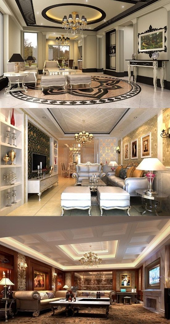 Living Room Designs 2014: Luxurious Living Room Designs
