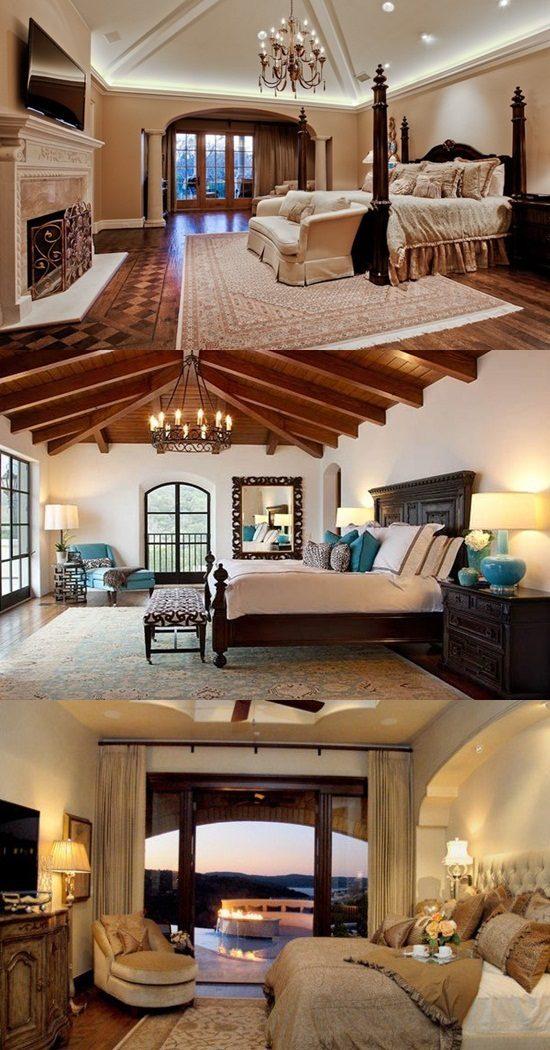Interior Design 4 Tier Tension Pole Caddy: Mediterranean Bedroom Interior Design Styles