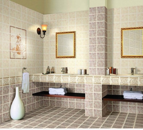 Modern Bathroom Design – Tiles and Colors