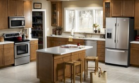 New kitchen Appliances while Renovating