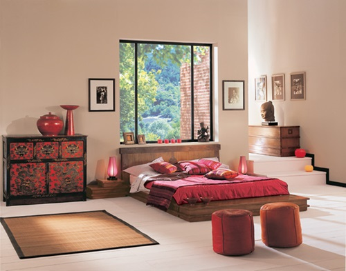 Organise an Oriental Asian bedroom – Japanese and Chinese looks!!