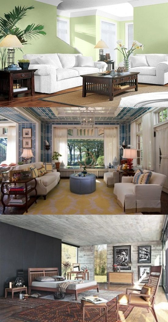 Paint your Ceiling with Smarts – Accent Wall