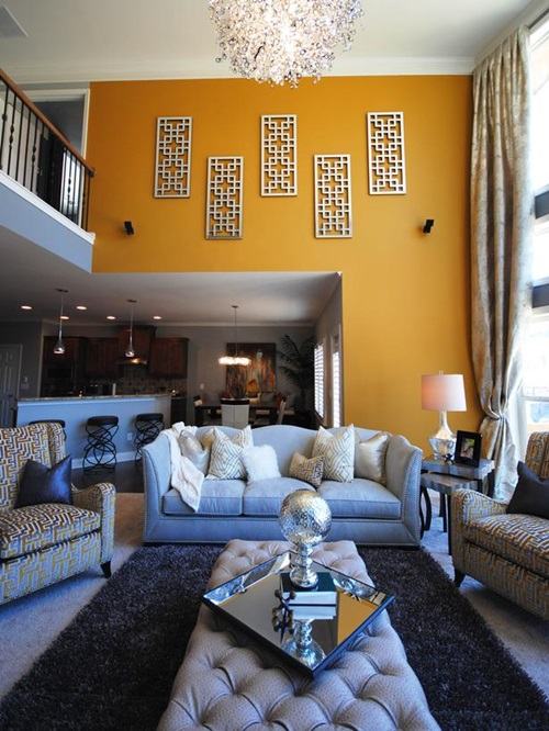 Paint your Ceiling with Smarts - Accent Wall