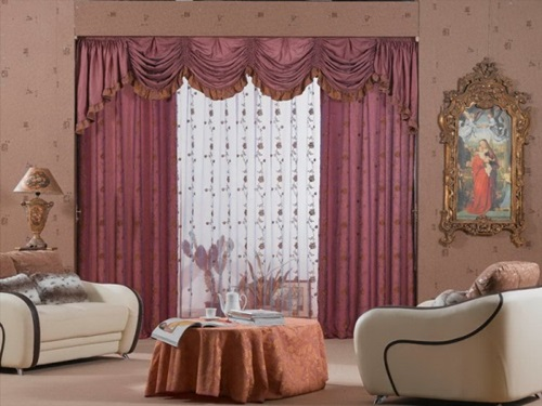 Perk Up your Living Room with Unusual Curtain Designs
