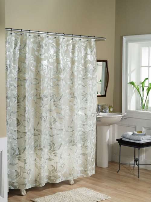 Shower Curtains - Glass Films Instead Of Shower Curtains