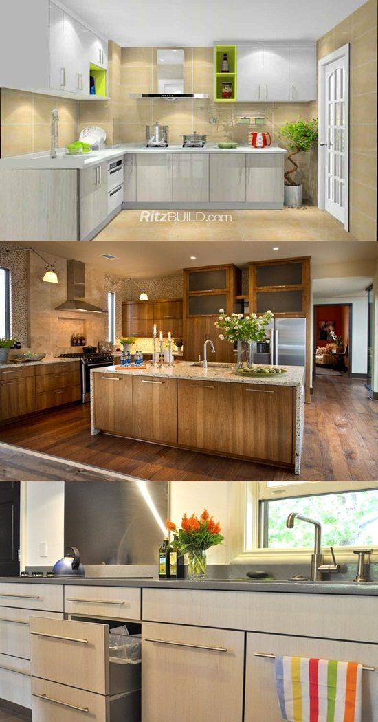 The Different Materials For Kitchen Cabinets Interior Design