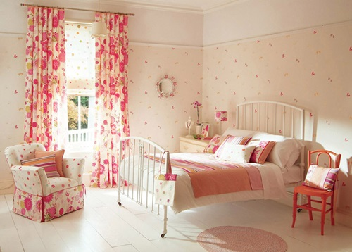 The different types of bedroom curtains fabrics interior for Different bedroom styles