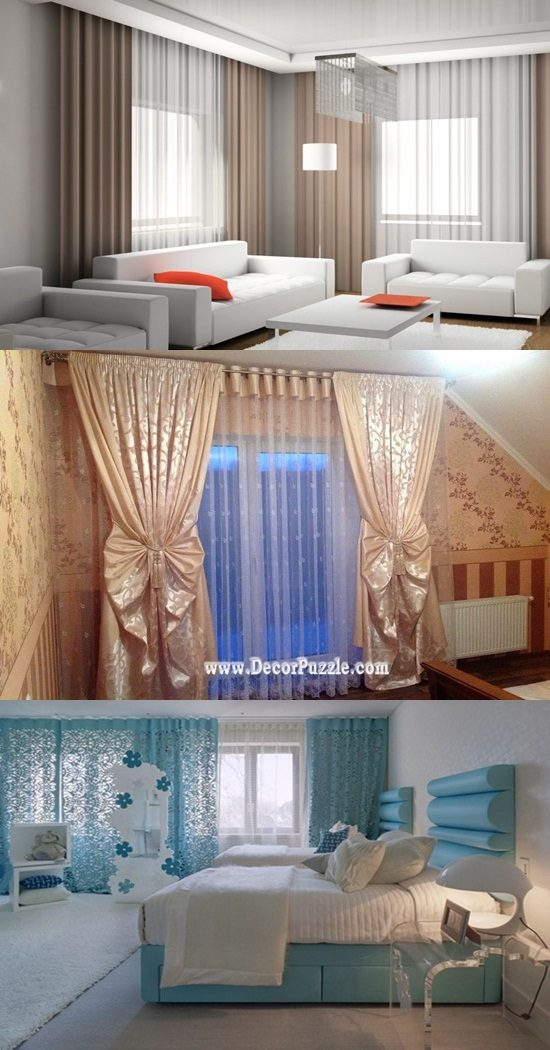 Instructions For Choosing Living Room Curtains Interior Design
