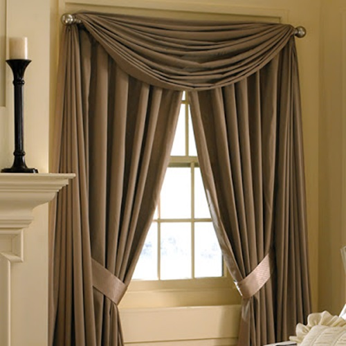 The different types of curtains accessories interior design for Different styles of drapes