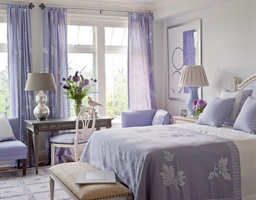 the different types of curtains for bedroom interior design