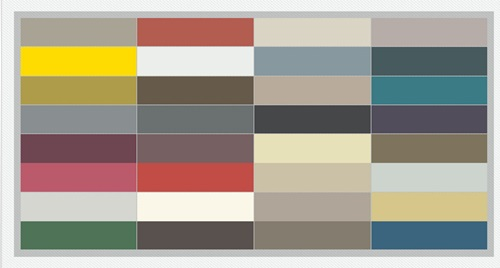 The Influence of Most Popular Color Palettes