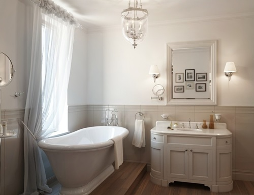 Traditional french bathroom designs interior design for A bathroom in french