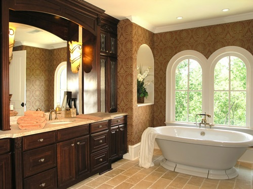 Traditional Bathroom Interior Design Ideas ~ Traditional french bathroom designs interior design
