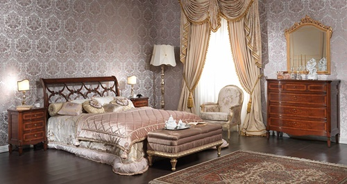 Victorian Bedroom Curtain Designs